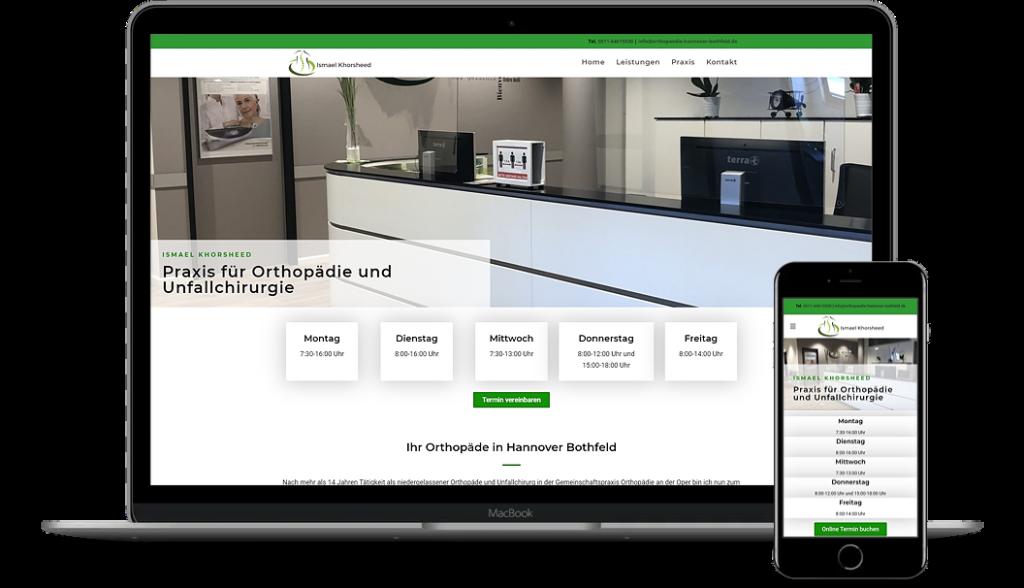 Webdesign JouiniCreation Hannover
